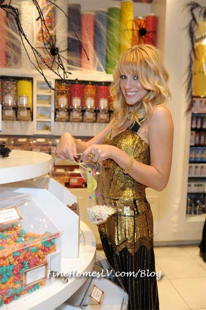 Brit Morgan at Sugar Factory Las Vegas