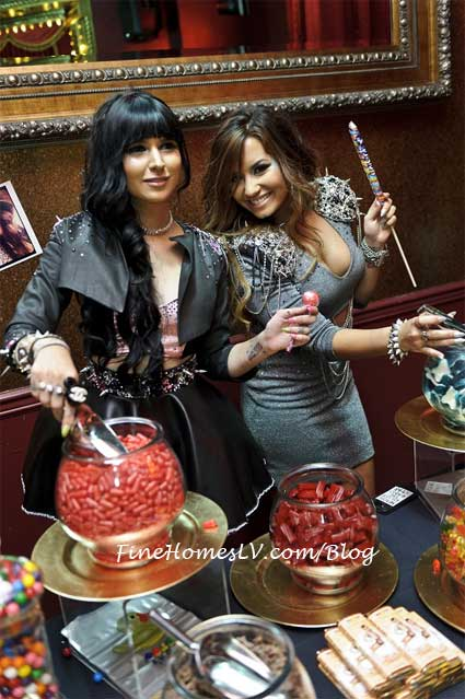 Demi Lovato and Hanna Beth Merjos