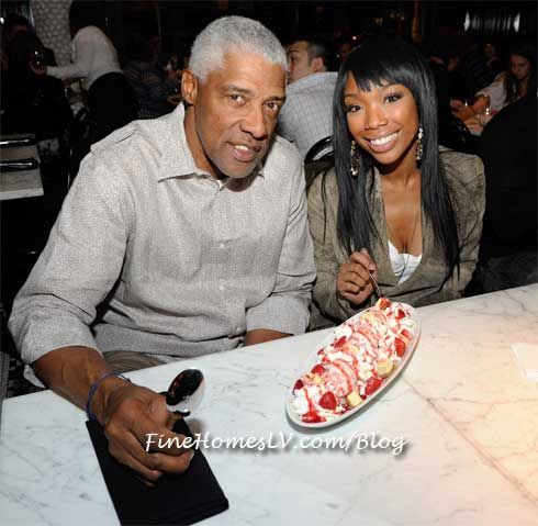 Dr J and Brandy at Sugar Factory