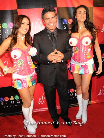 Esai Morales at Sugar Factory