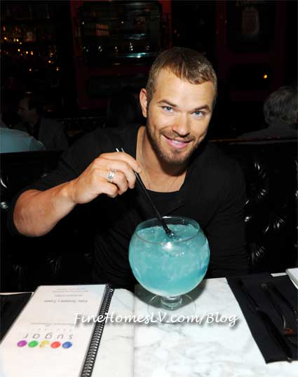 Kellan Lutz at Sugar Factory