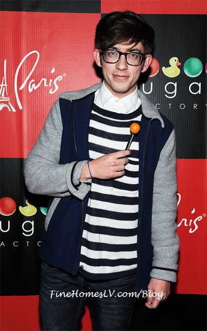 Kevin McHale With A Sugar Factory Couture Pop