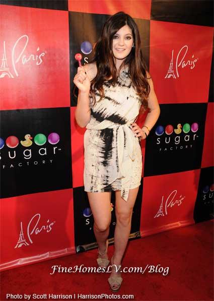 Kylie Jenner at Sugar Factory