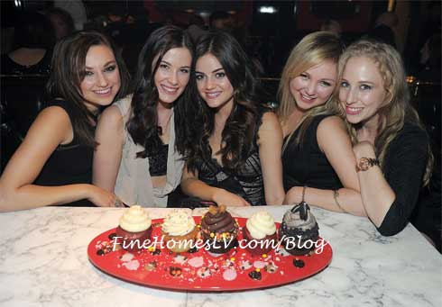 Lucy Hale at Sugar Factory
