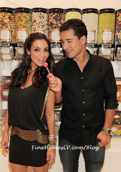 Mario Lopez with Couture Pop at Sugar Factory