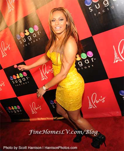 Mel B at Grand Opening of Sugar Factory
