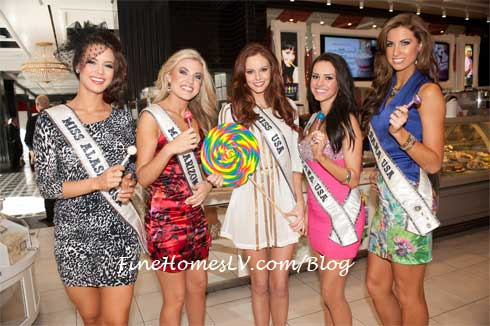 Miss USA 2012 Contestants and Miss USA 2011