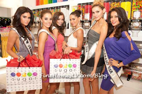 Miss USA 2012 Contestant at Sugar Factory