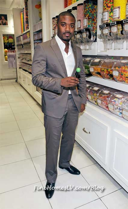 Ray J with A Sugar Factory Couture Pop