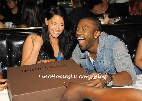 Ray J and Louis Vuitton Handbag