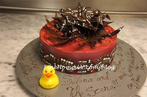 Selen Gomez Sugar Factory Cake