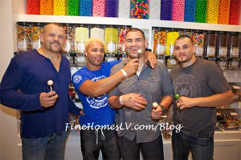 UFC Fighters at Sugar Factory