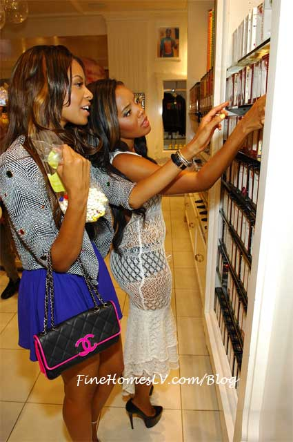 Vanessa and Angela Simmons Shop at Sugar Factory