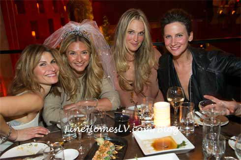 Molly Sims at TAO Asian Bistro