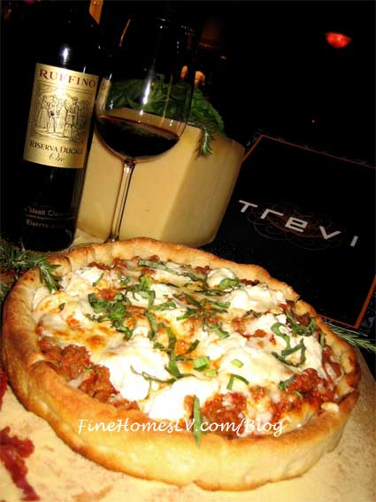 Lasagna Pizza at TREVI