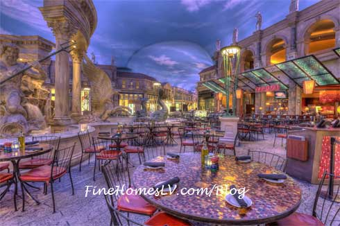 Trevi Patio at The Forum Shops