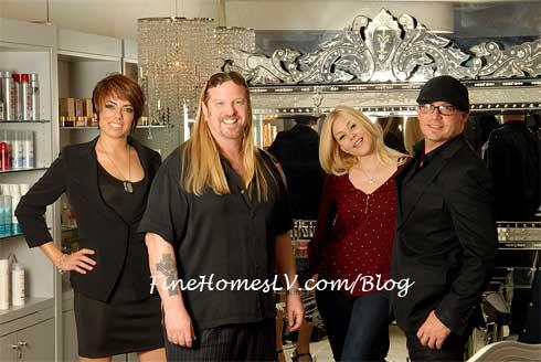 Michael Boychuck, Shanna Moakler and Team