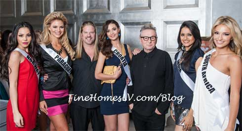 Michael Boychuck, Laurent D and Pageant Contestants