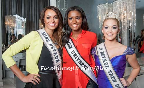 Jade Kelsall, Leila Lopes and Katie Eklund