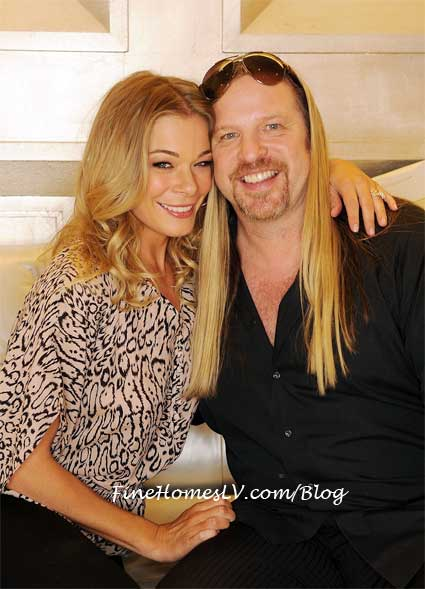 LeAnn Rimes and Michael Boychuck