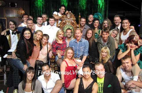 ABSINTHE and Dancing With The Stars Live Cast