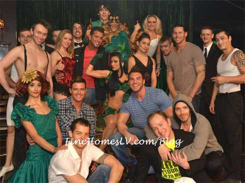 Chippendales and ABSINTHE Cast