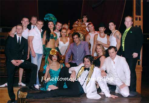 David Copperfield and ABSINTHE Cast