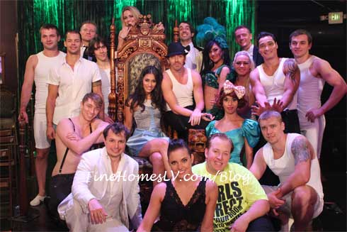 Janina Gavankar and ABSINTHE Cast