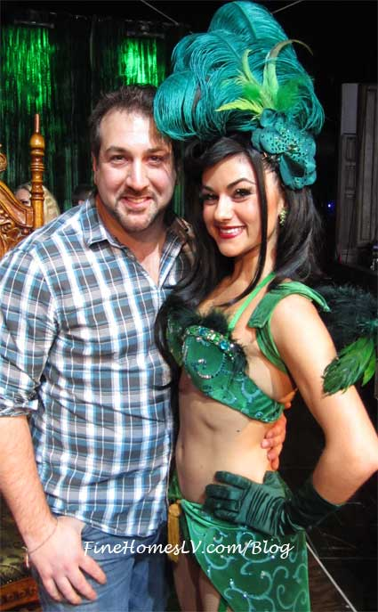 Joey Fatone and Melody Sweets