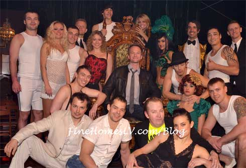 Neil Patrick Harris and ABSINTHE Cast