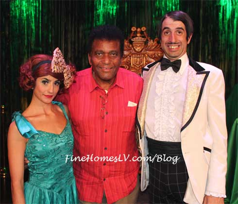 Penny Pibbets, Charley Pride and Gaz