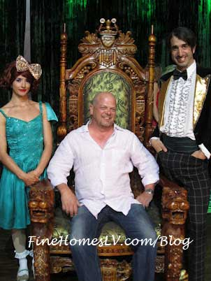 ABSINTHE Penny, Rick Harrison and Gazillionaire