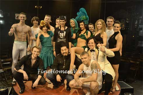 Destin Pfaff, Rachel Federoff and ABSINTHE Cast