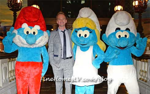 The Smurfs 2 and Neil Patrick Harris