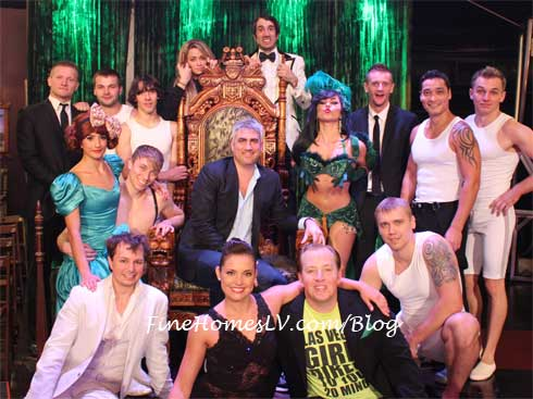 Taylor Hicks and ABSINTHE Cast