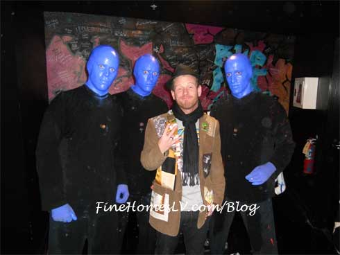 Corey Taylor and Blue Man Group