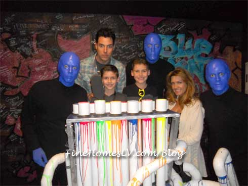 Frankie Moreno at Blue Man Group