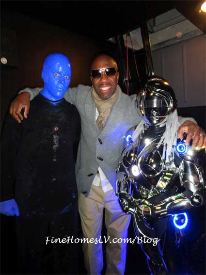 JB Smoove at Blue Man Group