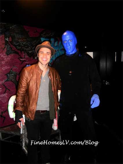 Kris Allen and Blue Man Group