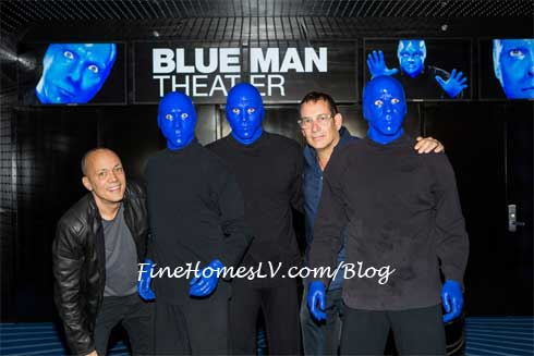 Blue Man Group and BMG Founders