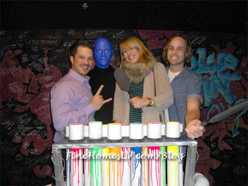 Rock of Ages Cast at Blue Man Group