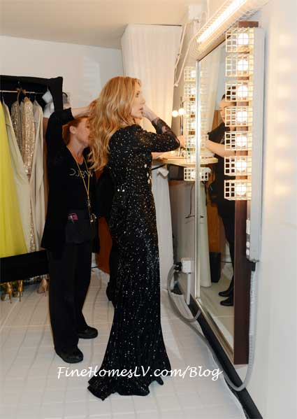 Celine Dion Dressing Room