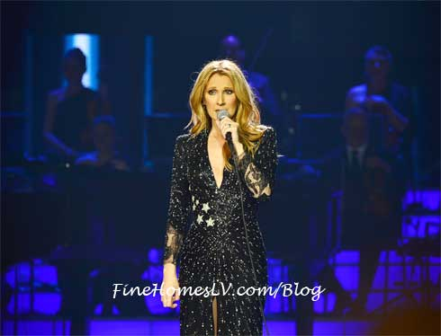 Celine Dion At The Colosseum