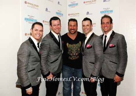 Joey Fatone and Human Nature