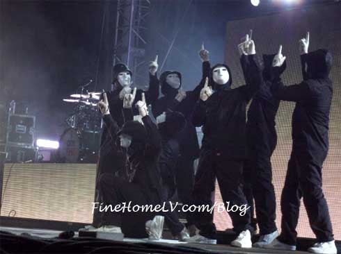 Jabbawockeez at Coachella