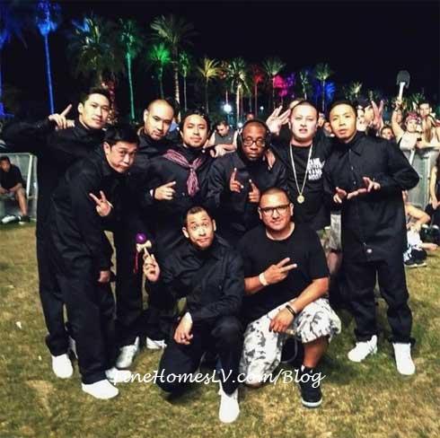 Jabbawockeez at Coachella Music and Arts Festival