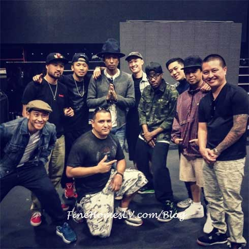 Jabbawockeez and Pharrell at Coachella