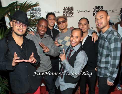 Dance Crew Jabbawockeez Celebrated Grand Opening Of 'MUS I C' Show
