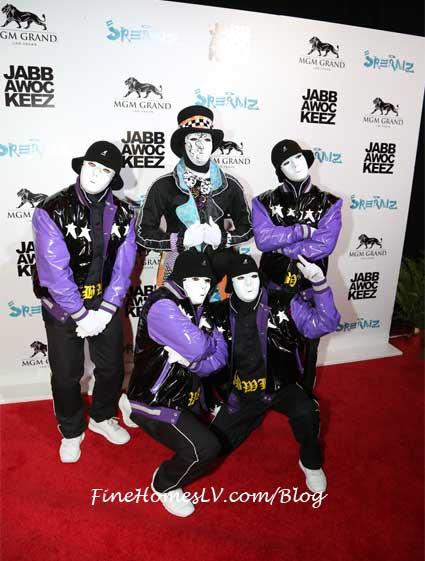 Jabbawockeez at Jreamz