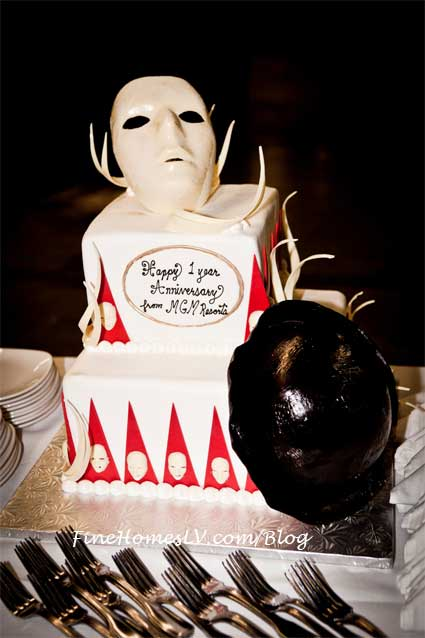 Jabbawockeez First Anniversary Cake
